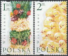 Poland 2002 - Easter - Fi 3808-3809 MNH**