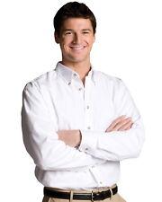 Men's Long Sleeve Edwards White Shirt Poplin 1280 S, XL, 4XL, 5XL