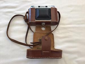 Agfa Super Isolette Camera | C1953-58. Original Leather Case - NICE CONDITION