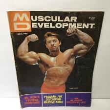 Muscular Development Magazine Larry Scott July 1966