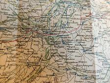 Bound in leather MILITARY PANORAMA 6 issues Apr 1813-Sept 1813 Fold-out maps