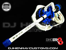 DHC STR8 TONE ARM Assembly Technic 1200's custom colors 24kt rcas internal grnd