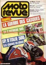 MOTO REVUE 2651 HARLEY DAVIDSON 1340 FXRT APRILIA RX Grand Prix d'Italie 1984