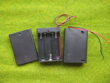 SW31 10x 3 AA Battery Box Holder With On/Off Switch & 150mm Leads