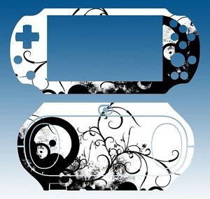 Vinyl Decal Skin Sticker for Sony PlayStation PS Vita PSV 2000 Black & White 113