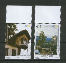 KOSOVO-MNH** SET-EUROPA CEPT-ARCHITECTURE-NATURE-2012.