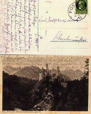 Beleg / AK Füssen-Neuschwanstein vom 14.11.1915   ( 23201-o1 )
