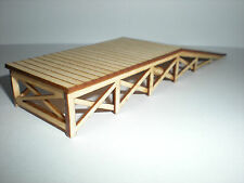 O Scale ** Laser Cut ** Custom Loading Ramp Kit