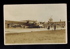 1933 Germany RPPC Postcard Cover Junkers G 38 Giant Wing Lufthansa Airliner