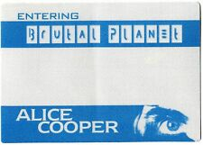 ALICE COOPER 2000 Brutal Planet Tour Backstage Pass!!! Authentic OTTO #2