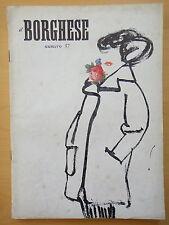 1954-IL BORGHESE-Direttore LEO LONGANESI-Anno V, Numero 37