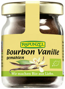 (106,60 EUR/100 g) Rapunzel Bourbon Vanille gemahlen bio 15 g