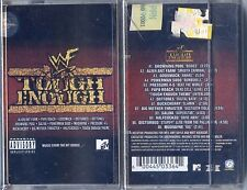 "WWF ""TOUGH ENOUGH"" CASSETTE COLLECTOR K7 TAPE CD MADE IN INDONESIA / NEW + RARE+"