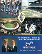 1993  KANSAS CITY ROYALS Vs Minnesota Twins  Scorecard  Program   Ex-Mint+
