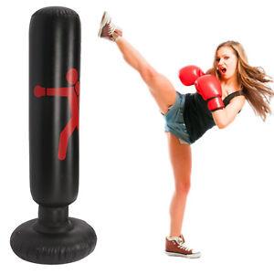 Standboxsack Boxsack Stehend Kinder/Erwachsene Punchingball Boxen Freistehender