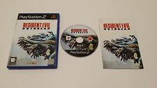 Resident Evil Outbreak (Sony PlayStation 2) European Version PAL