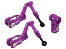 Rakon Blade Nano CPX/CPS CNC AL DFC Head Combo (Purple) - nCPX005-V