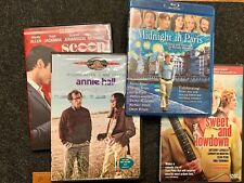 Woody Allen Dvd & Blu-ray Lot - Annie Hall, Midnight in Paris, Scoop et al.