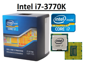 Intel Core i7-3770K SR0PL ''Ivy Bridge'' 4 Core,LGA1155, Clock 3.5 - 3.9GHz CPU