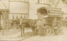 Cricklewood. A.Rogers & Sons, Fruiterers & Greengrocers Horse & Delivery Cart.
