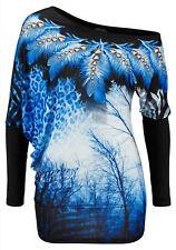 Laura Scott Shirts Blau/schwarz
