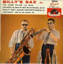 BILLY'S SAX TU N'ES PLUS LA FRENCH ORIG EP