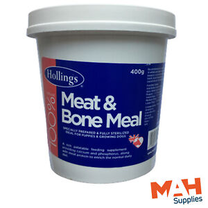 Hollings Meat And & Bone Meal Puppy Dog Food Calcium Phosphorous Feed Supplement
