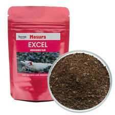 MOSURA Excel Flakes- Algae Eating Food for Crystal Red Shrimp Bee Shrimps CRS
