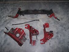 """MTD WHITE 46"""" Riding Lawn Mower FRONT AXLE ASSEMBLY & BRACKETS - in INDIANA"""