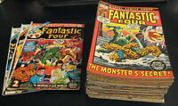 Wow! HUGE Lot *42* FANTASTIC FOUR! #125-8,139-44,150,155-63,165,189-209 +3 Anns!