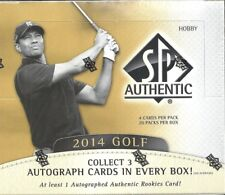 2014 SP Authentic Factory Sealed Golf Hobby Box    Rory McIlroy  AUTO  RC  ???
