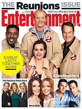 Entertainment Weekly,Ghostbusters Mean Girls Monty Python Sports Night Reunions