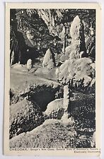 1907 Postcard Cheddar Gough's Caves Solomon's Temple Peacock Series England