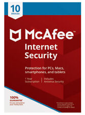 McAfee Total Protection 2018 10 Devices  1-Year - New Retail Download