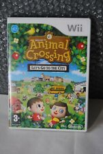 JEU CONSOLE NINTENDO WII COMPLET TBE ANIMAL CROSSING