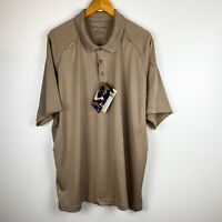 5.11 Tactical Men's Professional Short Sleeve Polo Shirt,Tan, XX-Large