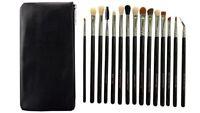New 15Pcs Eye Makeup Brushes Set Cosmetic Eye shadow Eyeliner Blending Brush UK