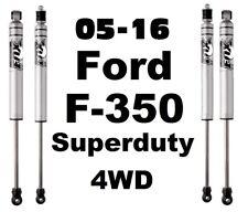 "FOX 2.0 Performance IFP Front+Rear Shocks Fits 05-16 Ford F350 4WD W/5.5-7"" Lift"
