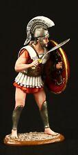 Elite: Greek Warrior Tin toy soldier 54 mm,metal sculpture