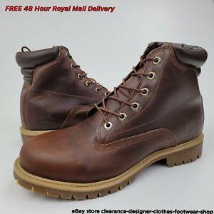 Timberland 6 Inch Alburn Waterproof Boot Brown Shoe Casual Smart Walk RRP £170