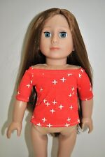 "American Girl Doll Our Generation Journey Gotz 18"" Dolls Clothes Boat Neck Top"