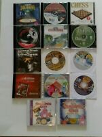 Lot of  PC Games Hidden Expedition 1000 Best Games Mah Jong Chess Monopoly MORE