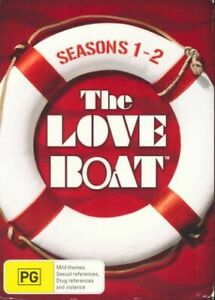 The Love Boat : Complete Season 1 + 2 ( DVD 15 DISC ) OVER 42 HOURS ! BRAND NEW
