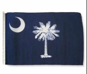 "12x18 12""x18"" State of South Carolina Sleeve Flag Boat Car Garden"