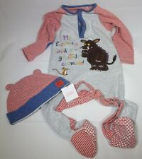 BNWOT Gruffalo sleepsuit and hat (with tags) 2-Piece Set 12-18m