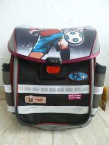 "McNeill School Bag School Backpack "" World Champion "" 6-tlg. Black/Gray New"