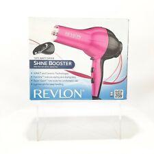 Revlon IONIC HAIR STYLER DRYER 1875 Watt Pink W/CONCENTRATOR New Open Box