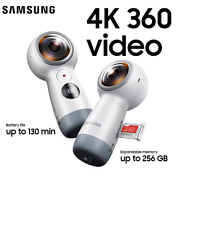 SAMSUNG GEAR 360 VR 2017 SM-R210 Camera US Seller FREE TRACKED SHIPPING Dash Cam