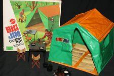 VINTAGE 1973 MATTEL BIG JIM CAMPIN' TENT # 8873 COMPLETE W/ BOX CAMPING TENT