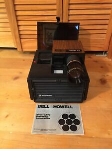 Vintage Bell & Howell 35mm Slide Projector Model AF70 WORKS